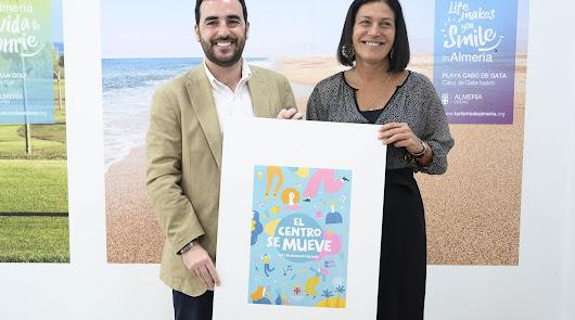 'El centro se mueve' para dinamizar el comercio tradicional de Almería