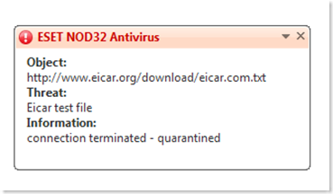 FILEnetworks Blog: Test your anti virus software