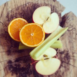 Apple Celery Juice.