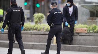 Ordenan vigilancia policial sobre 121 ceutíes con Covid-19.