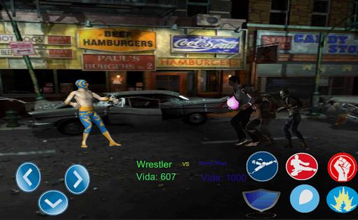 Zombies vs athletes