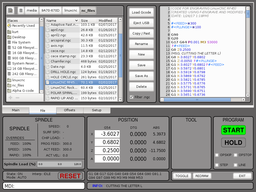Build Thread ENCO RF45 Clone CNC Conversion - LinuxCNC - Page 10