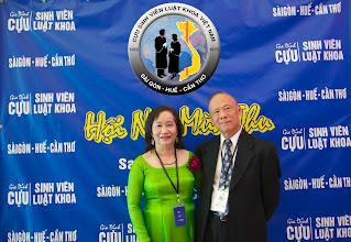 Photo: anh Châu Minh Hoàng (SVLK Cần Thơ) & Phu Nhân Trịnh Như Bằng