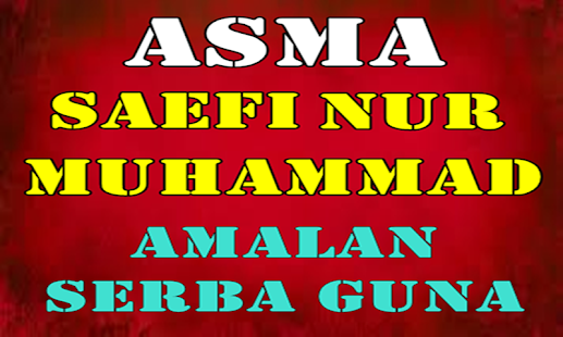 Asma Saefi Nur Muhammad for PC-Windows 7,8,10 and Mac apk screenshot 2
