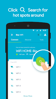 Blue WiFi - Connect Anywhere