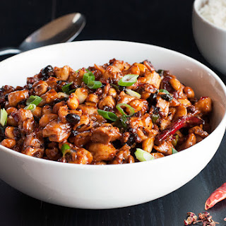 Chengdu-Style Chicken with Peanuts, Chiles & Black Beans