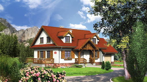 projekt Dom przy Modrzewiowej