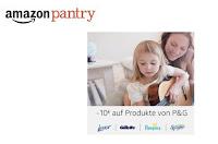 Angebot für Amazon Pantry: 10€ auf P&G im Supermarkt