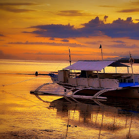 Tranquility by Joey Tomas - Transportation Boats