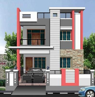 3d home exterior design ideas android apps on google play for Indian home outer design