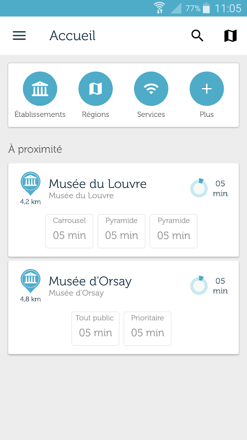 Affluences- screenshot