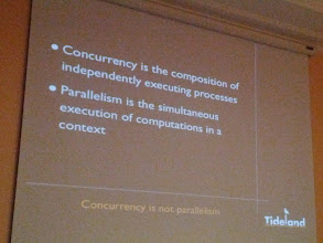 Photo: concurrency vs. parallelism