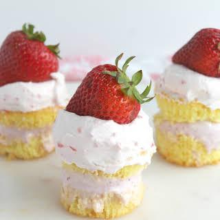 Mini Ice Cream Cupcakes.