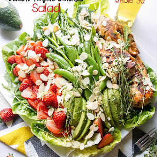 Strawberry Thyme Chicken Salad (Whole30)