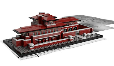 Photo: The LEGO Group today has announced the LEGO® Architecture Robie House, an interpretation of Wright's most famous Prairie style work. Designed by architectural artist Adam Reed Tucker, Robie House is a model of the 9,026-square-foot Frederick C. Robie House located in Chicago's Hyde Park neighborhood.  With models developed in collaboration with architects, LEGO Architecture aims to inspire future architects, engineers and designers as well as architecture fans around the world. Fans of all ages can collect and construct iconic architectural sites, including: Frank Lloyd Wright's Guggenheim Museum and Fallingwater, the Space Needle in Seattle, the Willis Tower and John Hancock Center in Chicago, New York's Empire State Building and Rockefeller Center, The White House in Washington, D.C., Farnsworth House in Plano, Illinois and the Burj Kalifa in Dubai.  Each LEGO Architecture set contains a booklet featuring step-by-step building instructions that is prefaced by history, information and photographs of each iconic building, its design origin, its architect and its architectural features.  LEGO Architecture: Robie House is recommended for ages 16 and older and includes 2,276 pieces and a booklet with details on Robie House's design and history.  About Frank Lloyd Wright's Robie House Frank Lloyd Wright's Robie House sparked a revolution in residential architecture that still reverberates today. The Robie House was the first historic property to be declared a National Historic Landmark based solely upon its architectural merit.  Designated by the American Institute of Architects as one of the 10 most significant structures of the 20th century, the impressive home features dramatic overhangs which appear to defy gravity and continuous bands of stunning art glass which dissolve the barrier between interior and exterior. It is an American treasure and celebrated as one of Chicago's most important buildings.  The Frank Lloyd Wright Preservation Trust presents guided 