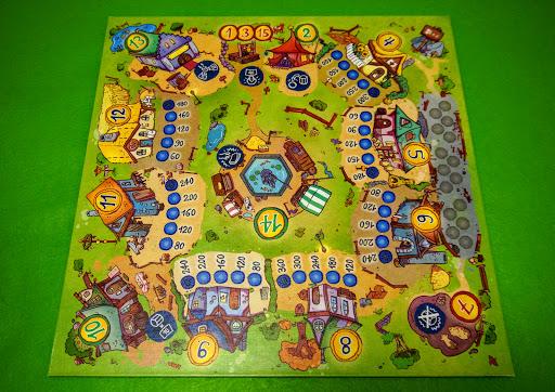 シュッテルス/ノームの村:ゲームの準備