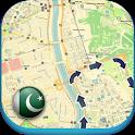Pakistan Offline Map & Weather icon