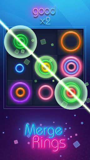 Merge Rings Neon - Drag n Fuse cheat screenshots 1