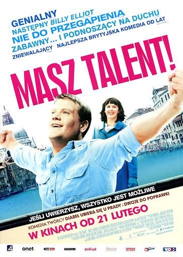 Przód ulotki filmu 'Masz Talent!'