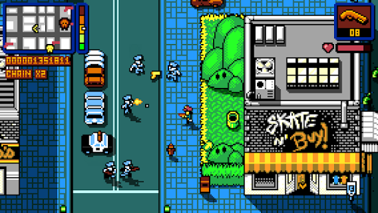 Retro City Rampage DX Screenshot