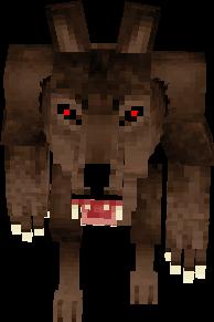 un hombre que se comvirtio en un lobo XD