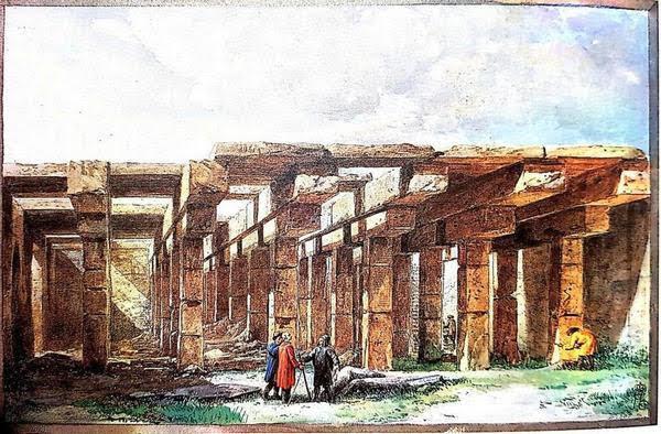 cisterna San Basilio - Houel
