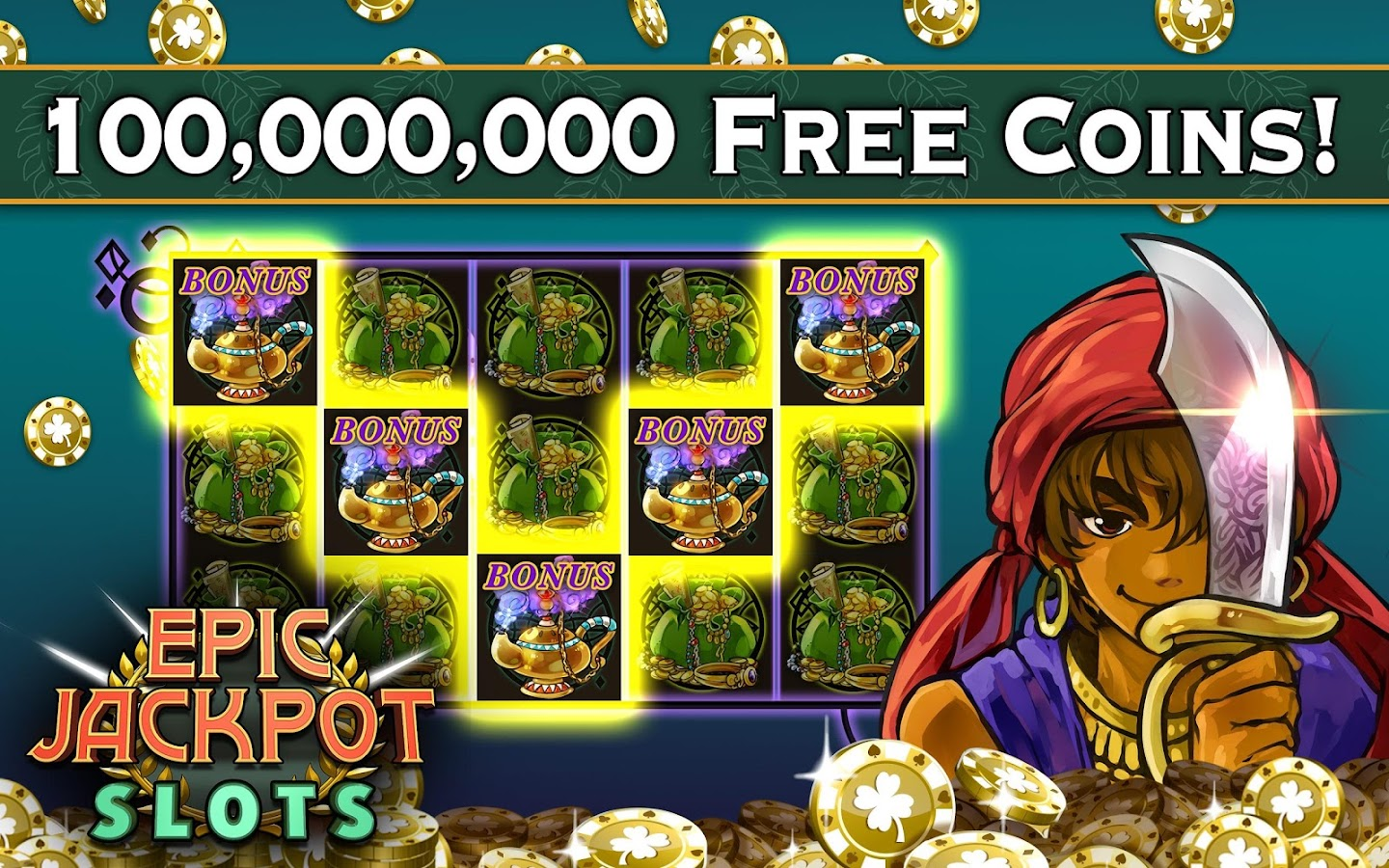 Slots: Epic Jackpot Free Slot Games Vegas Casino- screenshot