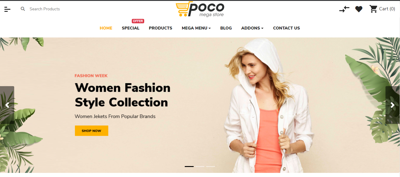 Poco - Opencart theme