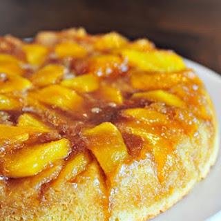 Nectarine Upside Down Cake.