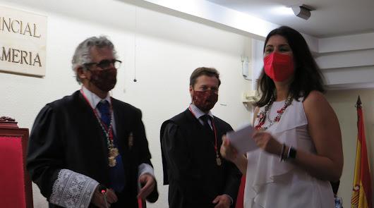 Sonia Gelado gana el premio del Colegio de Abogados por su brillante expediente