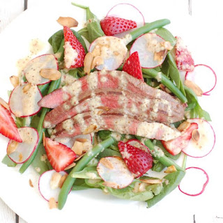 Summer Steak Salad with Champagne-Shallot Vinaigrette