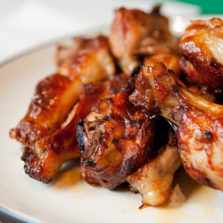 Adobo Chicken Wings.