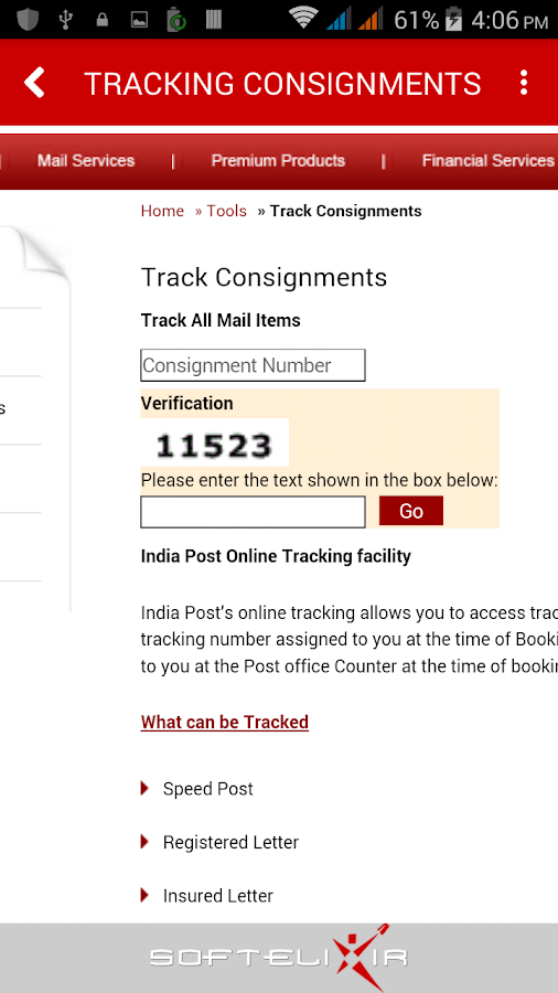 Indian Post- screenshot