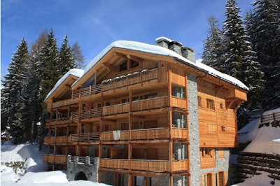 A Sun Lit Chalet Apartment in the Ski Resort of Verbier