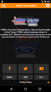 KTBB Radio- screenshot thumbnail