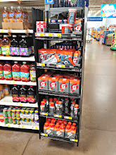 Photo: On the way to the juice aisle, this endcap caught my eye. It was tempting but we kept moving since we don't normally drink Gatorade.