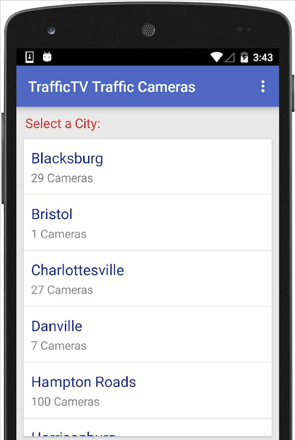 Traffic Cameras - TrafficTV - Android Apps on Google Play