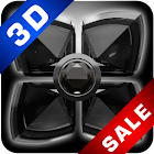 Next Launcher Theme 3d Black Diamond icon