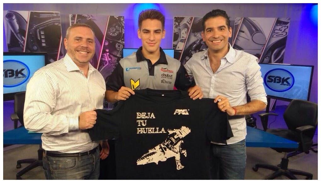 Fede Zapata y Kaku Alarcon en el programa del Superbike