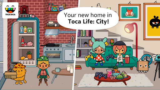 Screenshot for Toca Life: City in Hong Kong Play Store