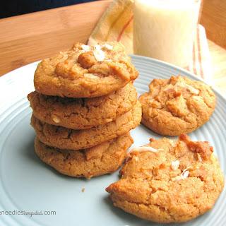 Coconut Peanut Butter Cookies