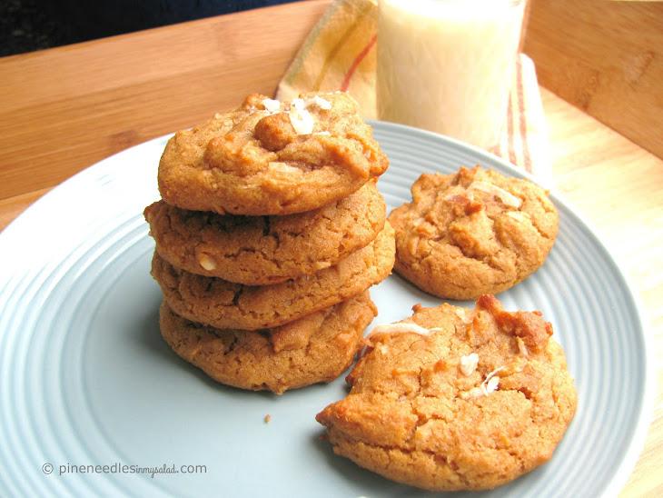 Coconut Peanut Butter Cookies Recipe