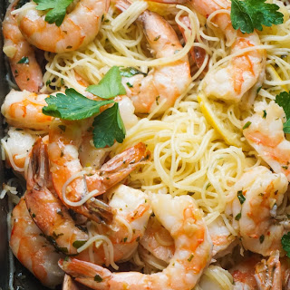 Roast Shrimp Scampi (Two-in-One Recipes)