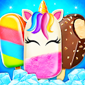 Unicorn Ice Cream Pop & Popsicles - Desserts Game icon