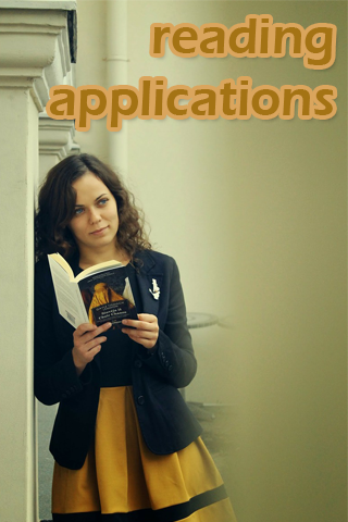 Reading applications