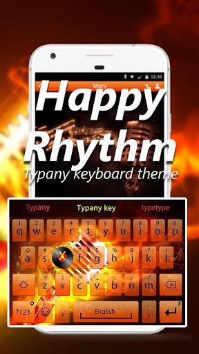 mod Happy Rhythm Emoji Keyboard 4.5 screenshots 1