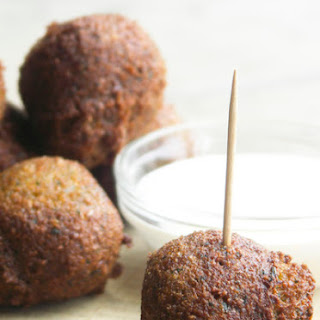 Falafel (Savory Chickpea Fritters).