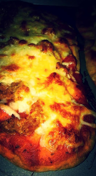 Naan Bread Big Foot Pizza Recipe