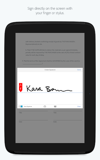Adobe Acrobat Reader Aplicaciones (apk) descarga gratuita para Android/PC/Windows screenshot