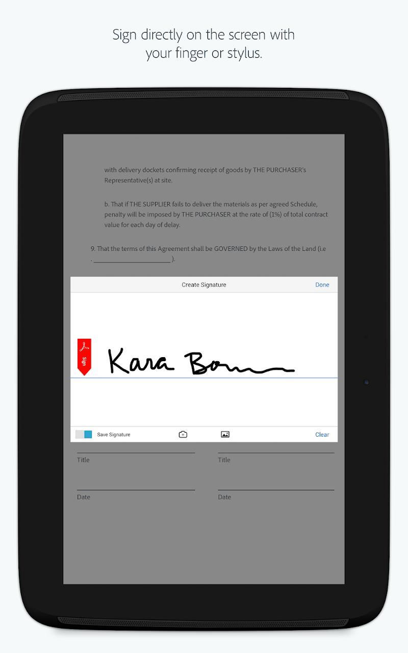 Adobe Acrobat Reader Screenshot 10